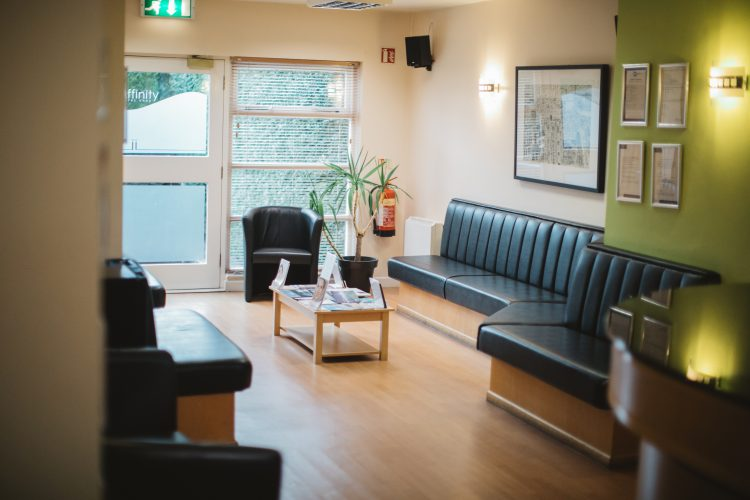 Affinity Dental Care waiting area