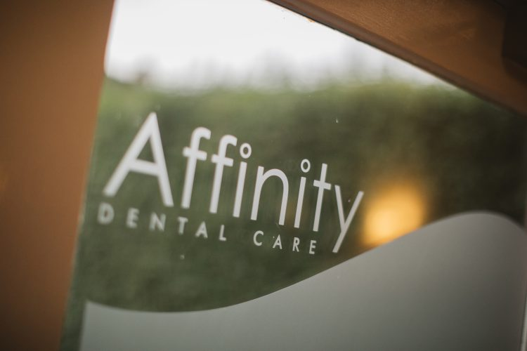Affinity Dental Care door signage